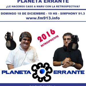 198-PE-2016-12-18--RETROSPECTIVA 2016 PLANETA ERRANTE