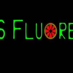 It was fluorescent! live set