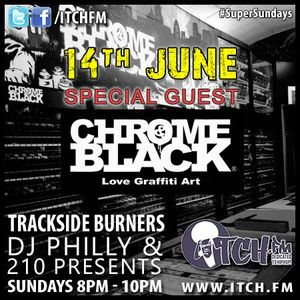 DJ Philly & 210 Presents - Trackside Burners 86 - Chrome and Black