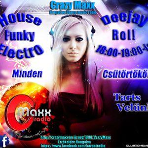 Deejay Rol! - Sensation Radio Show Vol.2 @ Crazy Maxx Radio (01.05.14)