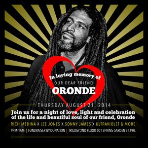 Rest In Peace Oronde ~ Rich Medina, Mike Nyce, Ultraviolet, Mr. Sonny James & Lee Jones | part 1