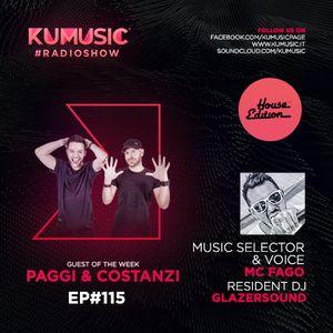 Kumusic Radioshow Ep.115 - Guest of the week: Paggi & Costanzi