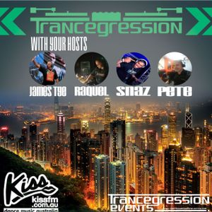 Raquel on Trancegression 383 Kiss Fm Dance Music Australia 23/6/16