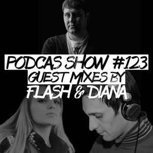 Podcast Show 123 with Kaver&Bolfinov [LIVE!] Guest mixes by Flash & Diana