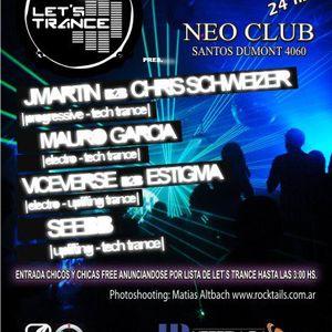Seebb Live @ Let's Trance [Neo Club] (4-12-2010)