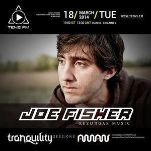 Joe Fisher @ Tranquility Sessions, Tanzi FM, March 2014