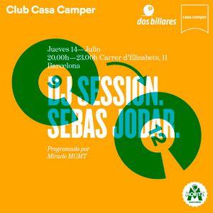 SESIÓN EN CLUB CASA CAMPER EL 14 DE JULIO DE 2016
