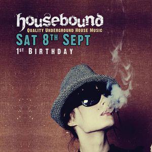 Beardo - Housebound 1st Birthday 080912