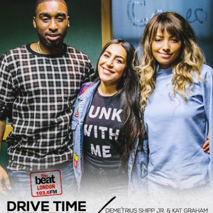 @dshippjr @katgraham on Drive time with @DJEllieProhan on #TheBeatLondon 29.06.17