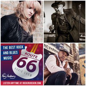Route 66 Radio Show (22/01/17) Elles Bailey interview plus Ash Wilson, Marcus Malone & Aaron Keylock