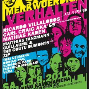 Federico Molinari & Dorian Paic Live @ King Kamehameha Beach,Germany (13.08.11)