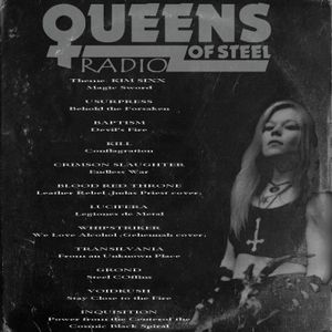 Queens of Steel (radio) - 12/07/2016
