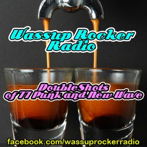 Double Shots of 77 Punk and New Wave : Wassup Rocker Radio 07-11-2013
