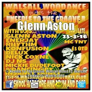 Glenn Aston @ Needle To The Groove, Walsall Wood, Walsall. Friday 25th March 2016