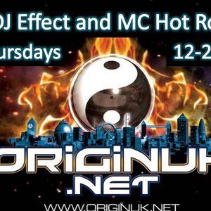 DJ Effect and MC Hotrox - www.originuk.net - 18th June 2012