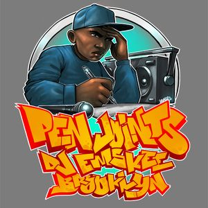 DJ EMSKEE PEN JOINTS SHOW #11 ON BUSHWICK RADIO (UNDERGROUND/INDEPENDENT HIP HOP) - 7/7/17
