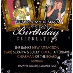 ELLISHA & MAURISHA BIRTHDAY DANCE PART ONE 8TH JULY 2017 FT D-MAC BROWNIE ROCKERS & WATTY JNR OBE