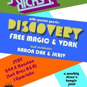 Aaron Dae & JKriv LIVE @ Just For Kicks (NYC)