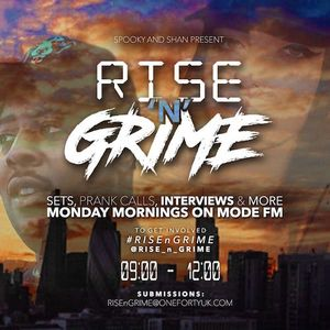 22/08/2016 - Rise'n'Grime w/ Spooky & Shan - Mode FM (Podcast)