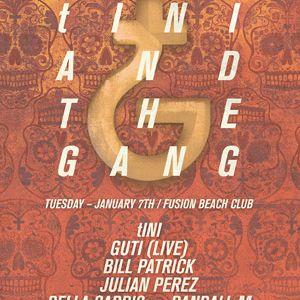 Guti - Live @ tINI and The Gang, BPM Festival, Fusion, Playa Del Carmen, México (07.01.2014)