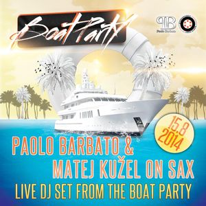 Boat Party Friday August 15th 2014