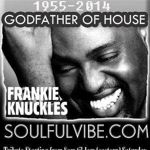 Tribute to Mr Frankie Knuckles!!