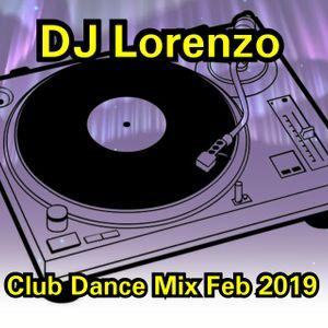 FEB 2019 CLUB DANCE MIX