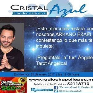 Cristal Azul - Programa del 25 de enero 2017