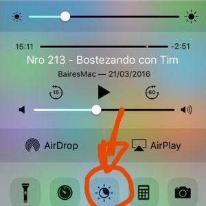 Pantalla que adormece: Night shift en iOS 9.3
