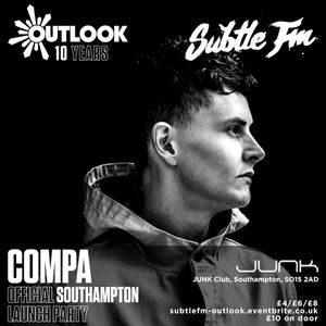 COMPA Live at Subtle FM's Outlook Launch Party 31.03.17