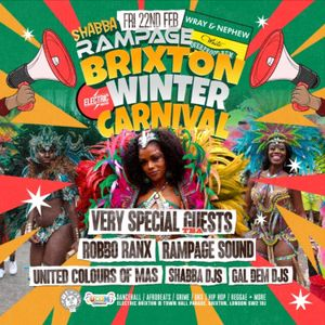 Winter Carnival 2019 Upfront Hip Hop R&B and Bashment