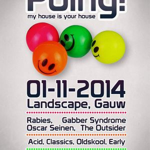 Oscar Seinen - Live @ POING! My house is your House  (Gauw, NL  01-11-2014)
