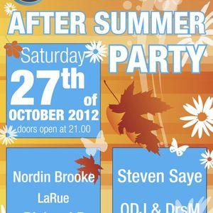 ODJ & DRSM @ SunSeaBar After Summer Party 2012