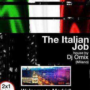 Dj Omix The Italian Job session Enfrente mini club madrid 23-03-2016 Part 1