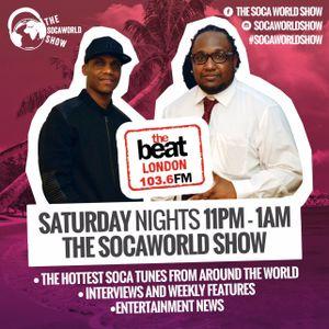 #SocaWorldShow with @DjBostman & DJ Trini Topshotta 17.12.2016 11pm-1am