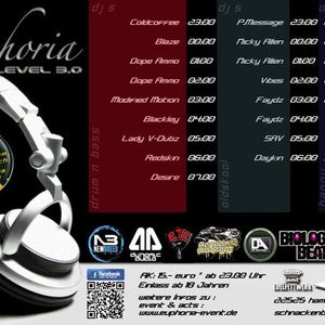 Euphoria Level 3.0 UK Special Round Part 1 (Dj Nicky Allen)