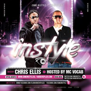 Chris Ellis & Mc Vocab - Instyle Mixtape 2012