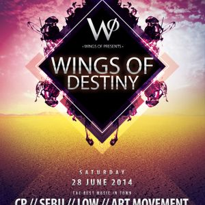 Dj Sebu Wings Of Destiny 14 06 2014