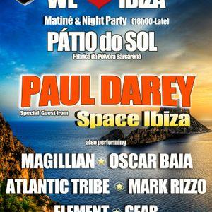 MAGILLIAN live at We♥Ibiza @ Pátio do Sol part.2 (16.06.2012)