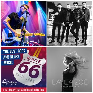 Route 66 Radio Show (27/03/16) Ben Poole Interview plus new Layla Zoe and Broken Witt Rebels tracks