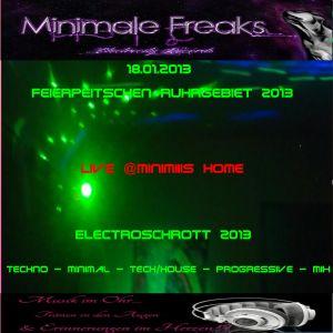 18.01.2013 - Minimale Freaks - Electroschrott 2013