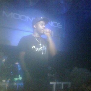 MC BLACKA alongside DJ E. ON KOOL  LONDON 9-9-14  ....Creeeeepy