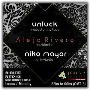 Groove Garden Radio Experience #2 - Alejo Rivero, Unluck, Nico Mayer