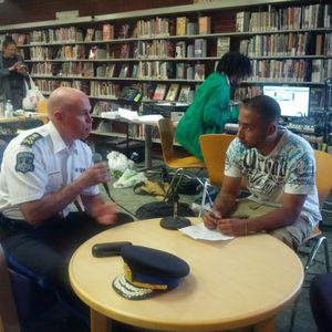 GotAVoiceFM - Alexi Rodriguez Interviews Halifax Police Chief JM Blais