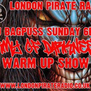 DJ Bagpuss live on London Pirate Radio - Army of Darkness warm up show 3 July 2016