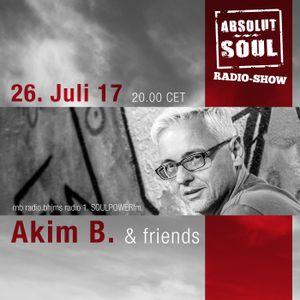 Absolut Soul Show /// 26.07.17 on SOULPOWERfm