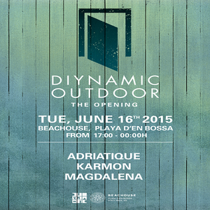 Adriatique  - Live At Diynamic Outdoor, Beachouse (Ibiza) - 16-Jun-2015