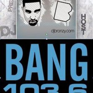 """The Weekend Warm-Up"" with DJ Bronzy 22.10.11"