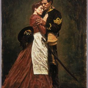 Woman with a sword , an American Civil War story.