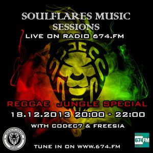 soulflares music sessions 6 @674FM -> Ragga Jungle / Dubwise Special
